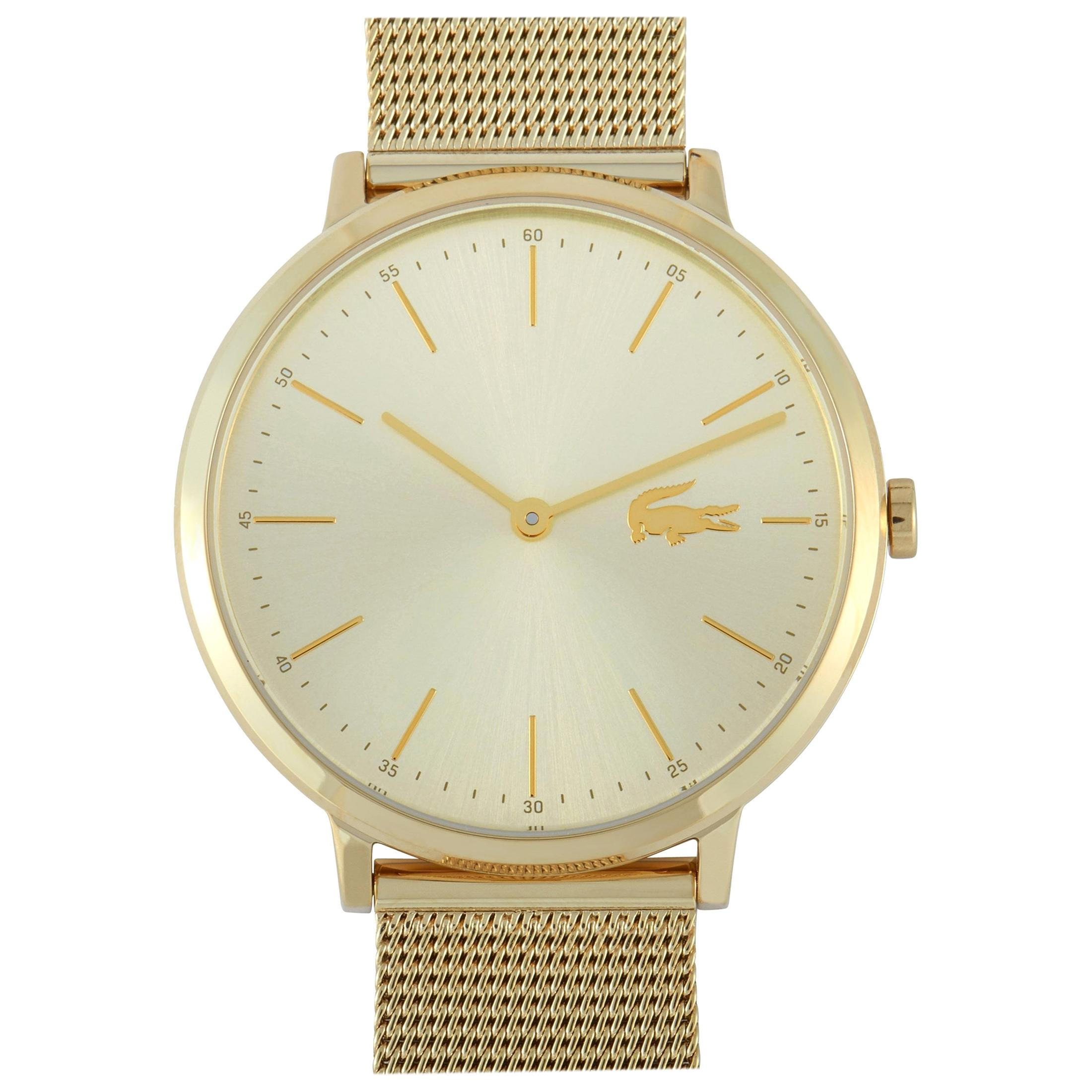 Lacoste Moon Ultra Slim Gold-Toned Stainless Steel Watch 2001000