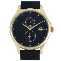 Lacoste Women's Kea Black Silicone Strap Watch 2001052