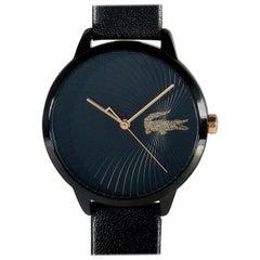 Lacoste Women's Lexi Black Leather Watch 2001069