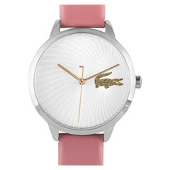 Lacoste Women's Lexi Pink Leather Watch 2001057