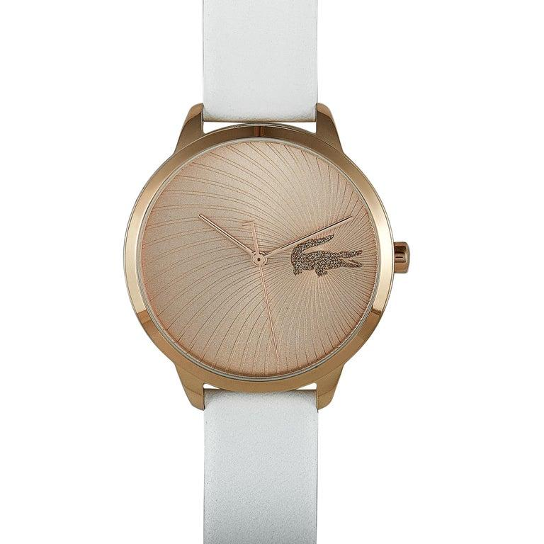 Lacoste Women's Lexi White Leather Watch 2001068 For Sale 1