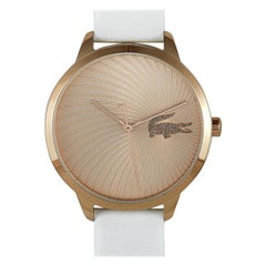 Lacoste Women's Lexi White Leather Watch 2001068