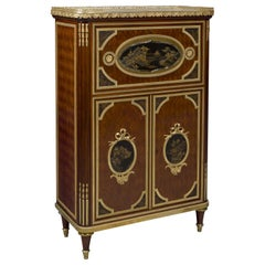 Lacquer Mounted Cabinet, Attributed to Maison Beurdeley, French, circa 1890