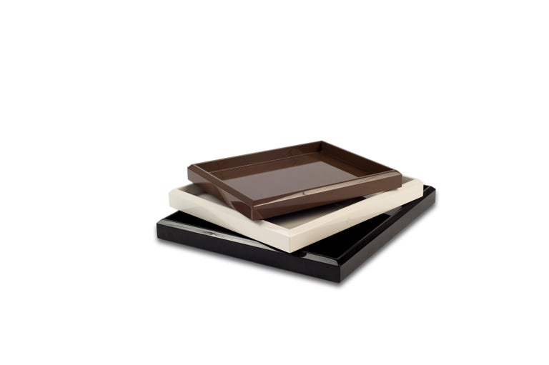 American Lacquer Nesting Trays Customized Different Colors For Sale
