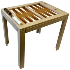Lacquered Backgammon Table by Steve Chase