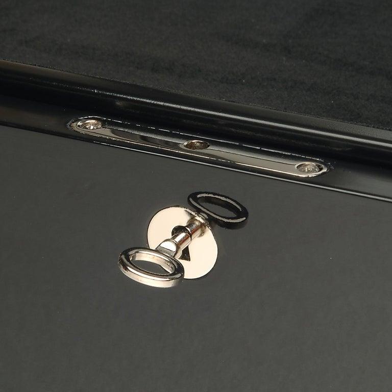 Modern Lacquered Black Box