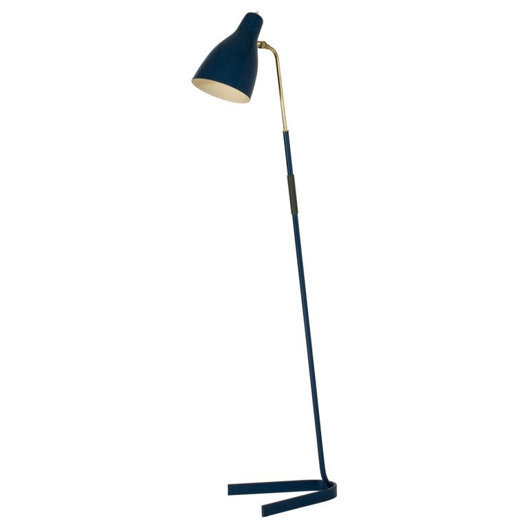 Lacquered Metal Floor Lamp from Boréns