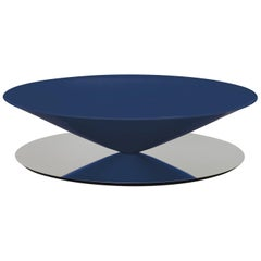 """Lacquered Steel """"Float"""" Coffee Table, Luca Nichetto"""