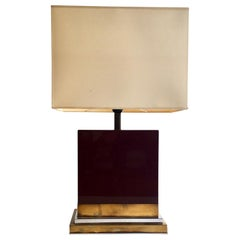 Lacquered Table Lamp by J.C. Mahey, 1970