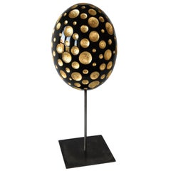 Lacquered Wood and Gold Sculpture, Fireworks