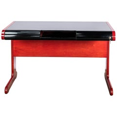 Lacquered Wood Desk by Stilka, Argentina, circa 1970