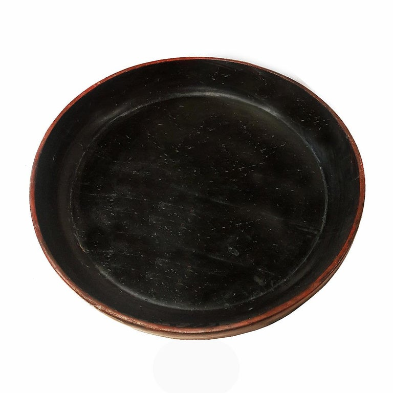 Lacquered Wood Tray from Thailand, Early 20th Century For Sale 2