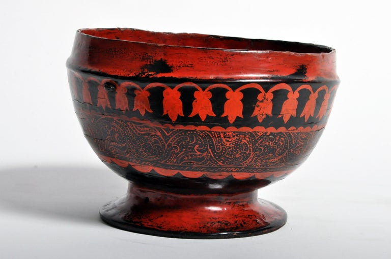 Lacquerware Bowl For Sale 4