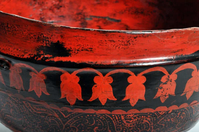 Lacquerware Bowl For Sale 5