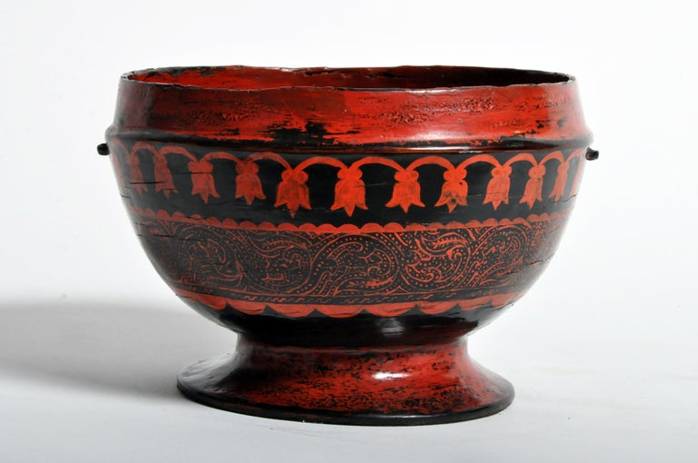 Lacquerware Bowl For Sale 6