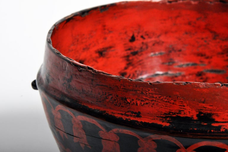 Lacquerware Bowl For Sale 9