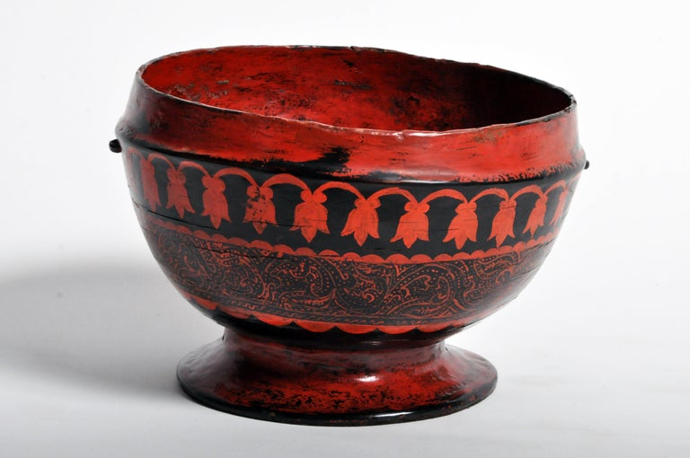 Thai Lacquerware Bowl For Sale