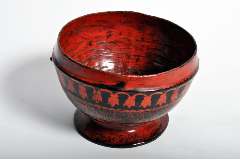 20th Century Lacquerware Bowl For Sale