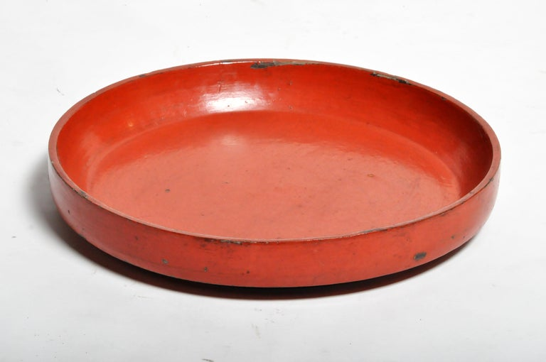 Lacquerware Food Tray In Good Condition For Sale In Chicago, IL