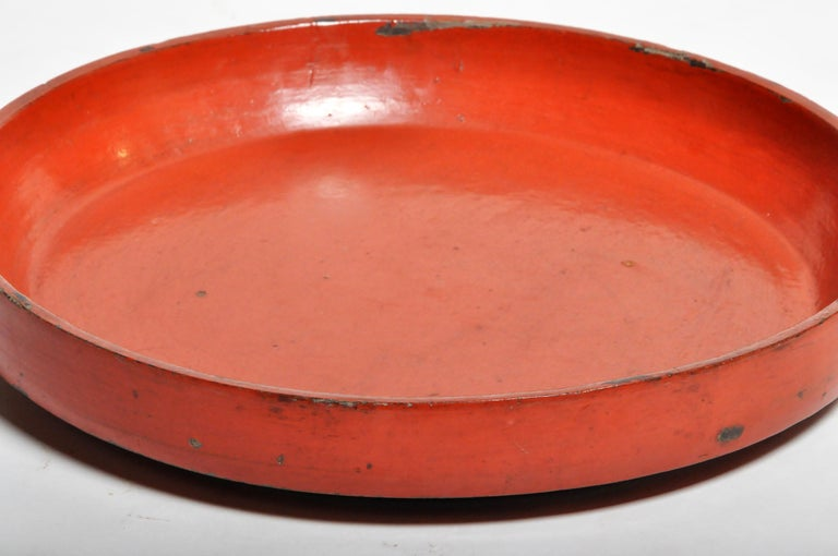 20th Century Lacquerware Food Tray For Sale