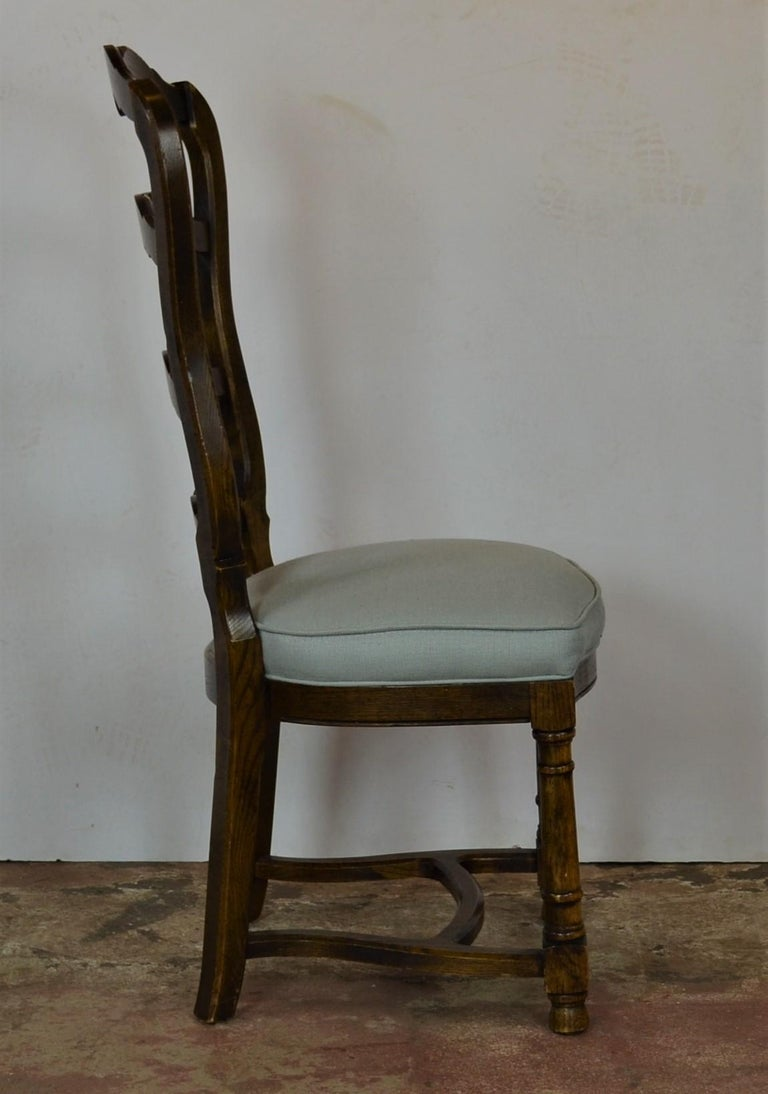 Ladder Back Dining Chairs For Sale 5