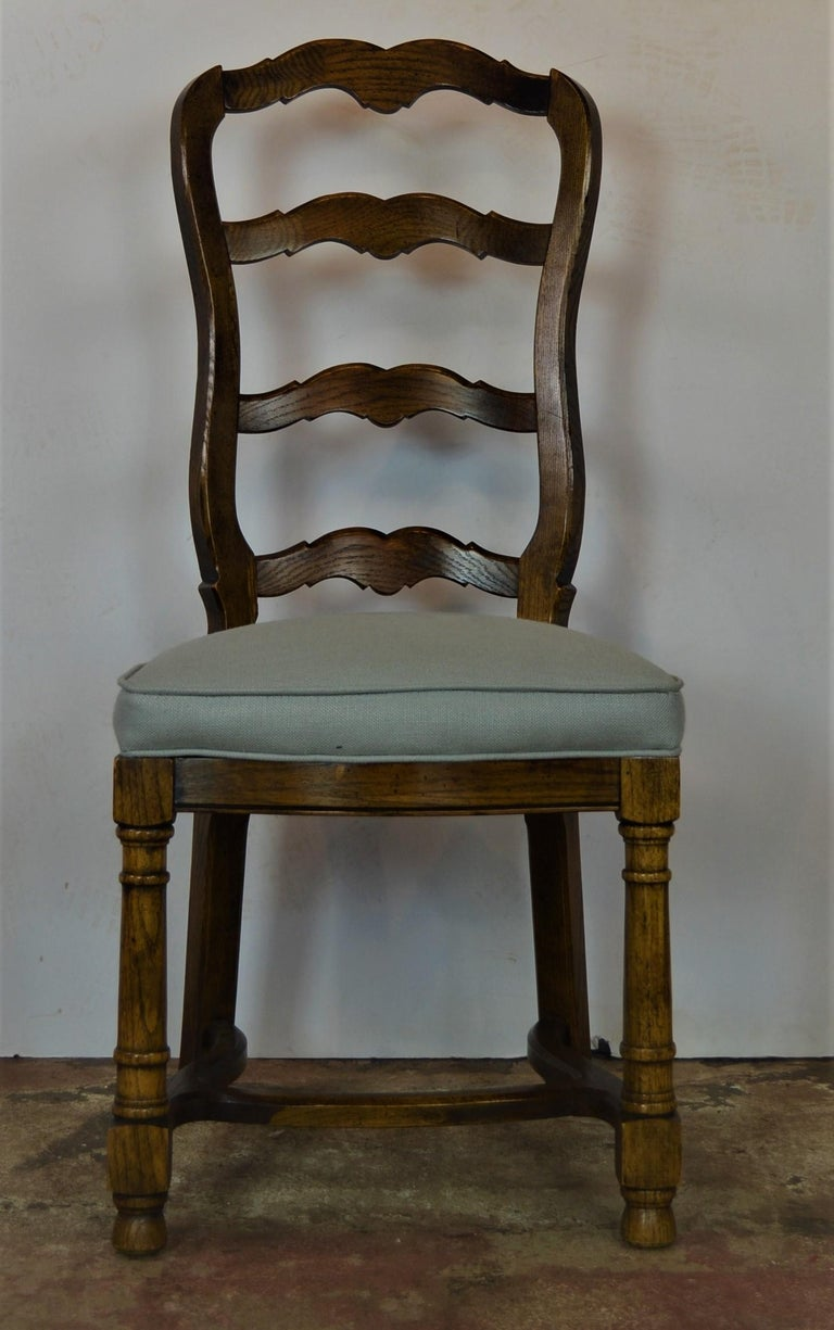 Ladder Back Dining Chairs For Sale 6
