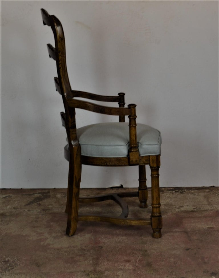 Ladder Back Dining Chairs For Sale 3