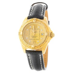 Ladies 18 Karat Breitling Cockpit on Strap