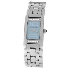Ladies Audemars Piguet Promesse 67259ST.2.1156ST.03 Steel Diamond Quartz Watch
