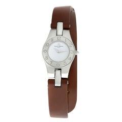 Ladies Baume & Mercier Linea 65305 Stainless Steel Quartz Watch