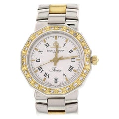 Ladies Baume & Mercier Riviera 18 Yellow Gold and SS 5231