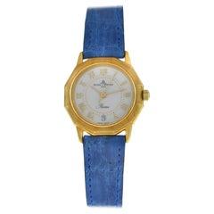 Ladies Baume & Mercier Riviera 83212.1 18 Karat Yellow Gold Quartz Watch