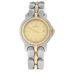 Ladies Bertolucci Pulchra Steel Gold Quartz Date Watch