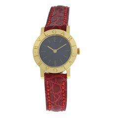 Ladies Bvlgari Bulgari G1886.4 18 Karat Gold Mechanical Watch