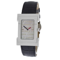 Ladies Carrera y Carrera Tempus Fugyt Steel Mother of Pearl Quartz Watch