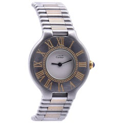Ladies Cartier Must De 21 Two-Tone Quartz Watch