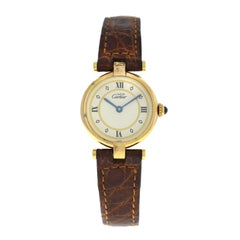 Ladies Cartier Must de Cartier 1851 Silver Gold Vermeil Quartz Watch