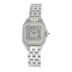Ladies Cartier Panthere 1320 Stainless Steel Watch