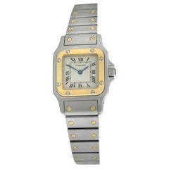 Ladies Cartier Santos Galbee 1567 Stainless Steel Quartz Watch