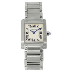 Ladies Cartier Tank Francaise PM Stainless Steel
