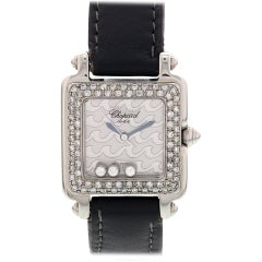 Ladies Chopard Be Happy 2 S/S and Diamond Watch 27/8896-403