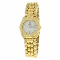 Ladies Chopard Gstaad Quartz 18 Karat Yellow Gold Watch