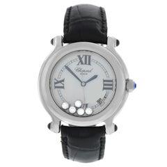 Ladies Chopard Happy Sport 28/8964-23 Floating Diamonds Quartz Watch
