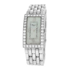 Ladies Chopard Les Classiques Diamond 18K Gold Quartz MOP Watch