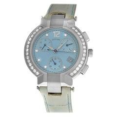 Ladies Concord La Scala 14.CS.1891.S Steel Diamond Chrono Quartz Watch