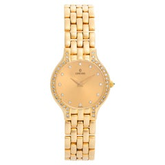 Ladies Concord Les Palais 14 Karat Yellow Gold Watch 29-62-266