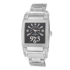 Ladies De Grisogono Tino Acier N01.002/B Steel Quartz Watch