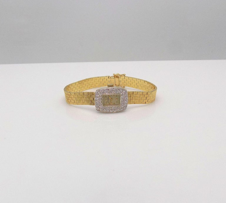 Ladies Diamond Girard Perregaux Wristwatch For Sale 1