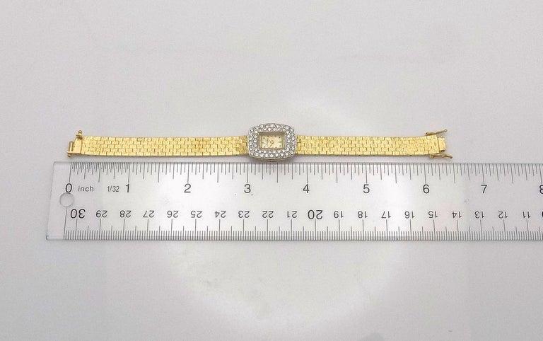 Ladies Diamond Girard Perregaux Wristwatch For Sale 3