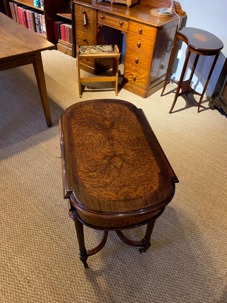 Amboyna Ladies Dressing Table For Sale